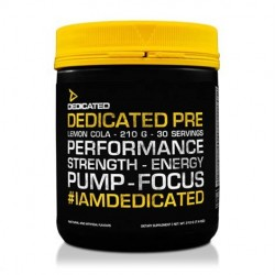 DEDICATED PRE dedicated nutrition