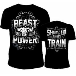 Beast Power Bodybuilding T-Shirt