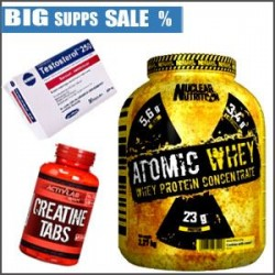 ATOMIC WHEY+CREATINE+TESTOSTEROL