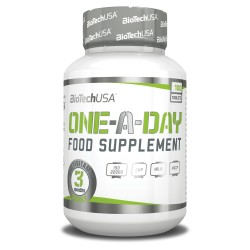BiotechUSA One a day 100 Tablets