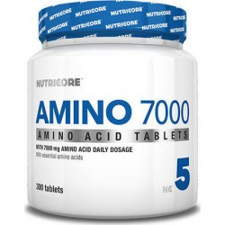 Nutricore Amino 7000 - 300 Tablets